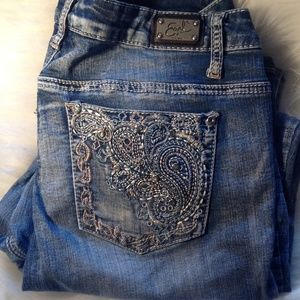 NWOT Earl Decorative Jeans